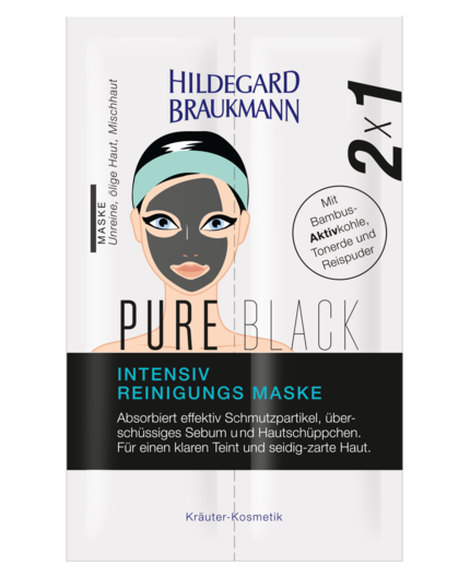 PURE BLACK INTENSIV REINIGUNGS MASKE