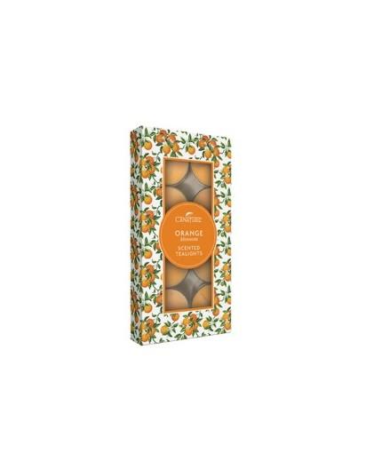 LaNature Orange Teelichter